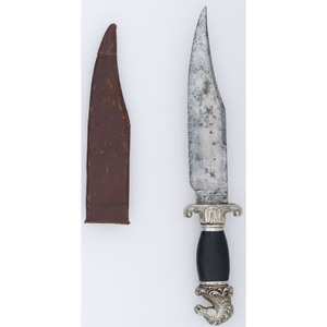Classic Horsehead Bowie Knife by Geo Westenholm & Son