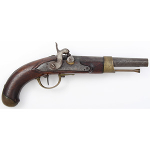 French Charleville an XIII Percussion Conversion Pistol