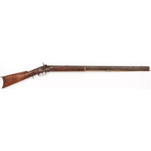 Half Stock Percussion Rifle