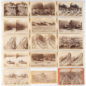 Railroad Stereoview Collection, Featuring Views of New England, Pennsylvania, and New York