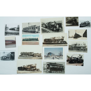 Collection of 100+ Photographs of Locomotives, Ca Early 20th Century