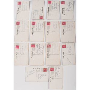 Ca 1950s Collection of Baseball Postcards Autographed by Prominent Players, Incl. Cleveland Indians and Detroit Tigers