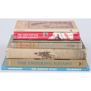 [Southwest] Books on Navajo Culture and Religion, From the Library of Richard Pohrt, MI