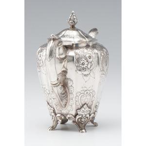 New York Coin Silver Teapot
