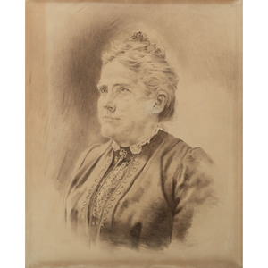 Framed Portrait of Suffrage Movement Leader Anna Howard Shaw
