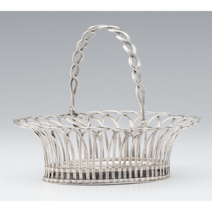 George III Sterling Silver Basket, John Vere & William Lutwyche