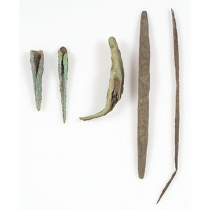 Old Copper Culture Tools,  From the Collection of Roger