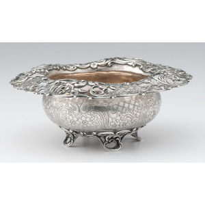 American Sterling Center Bowl, Retailed by J.E. Caldwell