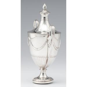 George III Sterling Lidded Cup, Benjamin Laver