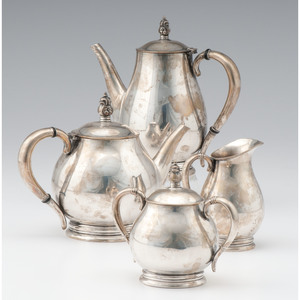 International Sterling Tea and Coffee Service, Royal Danish