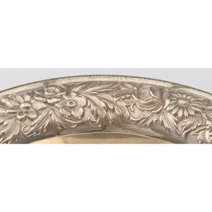 S. Kirk & Son Sterling Pedestal Bowl and Wine Coaster
