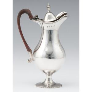 George III Sterling Wine Jug, Thomas Daniell