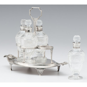 Paul Storr Sterling Cruet Stand