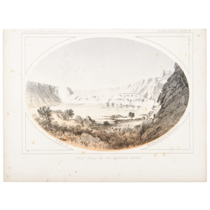 [Americana - Illustrated]  Pacific Railroad Survey, Collection of  10 Lithograph Views Plus 6 Other Engraved Views