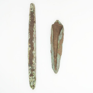 Old Copper Culture Forming Tool, From the Collection of Roger