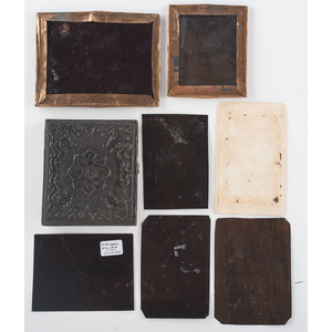 Ambrotypes and Tintypes, Lot of 30, Including Musicians, Military Images, Couple on Horseback, and Cigar Smoker