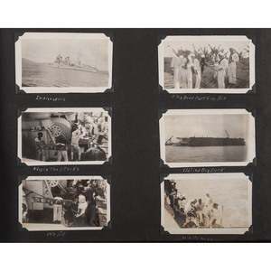 Two Photograph Albums Belonging to US Navy Sailors, 1935-1955, Plus US Navy Nurse's World War II Scrapbook