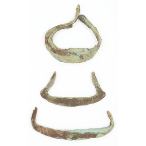 Old Copper Culture Crescents, From the Collection of Roger