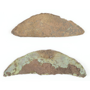 Old Copper Culture Gorgets, From the Collection of Roger