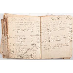 Business Ledger, Mecklenburg Co., VA, 1775 - 1833