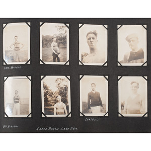 Collection of Miscellaneous Photography, Plus Louise, Princess Royal Sterling Silver Presentation Frame and Miniature Painted Portraits