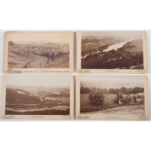 Southeastern United States in Early Photography, Incl. Boudoir Cards of Asheville, North Carolina and Old Spanish Fort in Florida