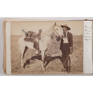 Early 20th Century Photo Album Featuring Photographs of the American West, Identified to the Sutherland Family