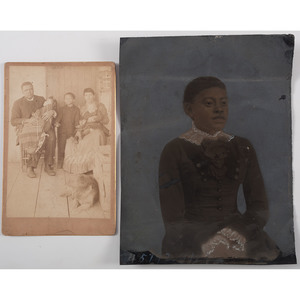 African-American Photography, Including Whole Plate Tintype and Postmortem Cabinet Card