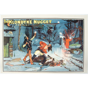 The Klondyke Nugget Chromolithograph Poster