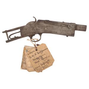 E.A. F. Topperwein Patent Model Of Magazine Firearm