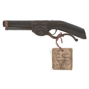 Geo H. Soule Patent Model For Breech-loading Firearms