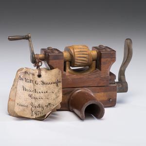Patent Model For Dewitt G. Farrington Machine gun