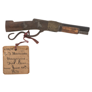 S.H. Harrison Patent Model For A magazine Fire-Arm
