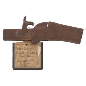 Patent Model By Silas Crispin Breech-Loading Firearm