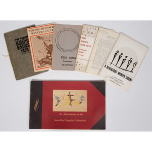 [Plains] Books and Pamphlets on Winter Counts and Ledger Drawings, From the Library of Richard Pohrt, MI