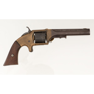 E.A. Prescott Smith and Wesson-Style Six-Shot Revolver and Holster