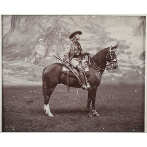 Buffalo Bill, Large Format Photograph By F.J. Hiscock