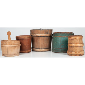 Wooden Pails and Firkins