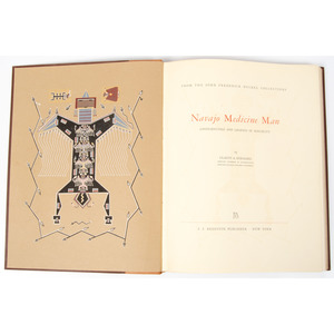 [Southwest] Navajo Medicine Man: Sandpaintings and Legends of Miguelito by Gladys A. Reichard, From The Harriet and Seymour Koenig Collection, NY
