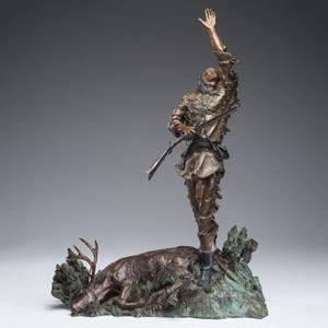 Rusty Phelps (American, b. 1936) Bronze Sculpture