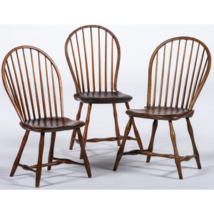 Hoop-Back Windsor Chairs