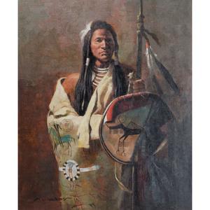 K. Dawson (20th century) Oil on Canvas