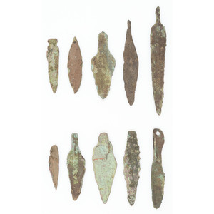 Old Copper Culture Projectile Points, From the Collection of Roger