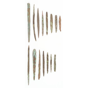 Old Copper Culture Awls, From the Collection of Roger