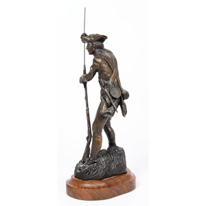 The Minute Man Bronze by Rusty Phelps