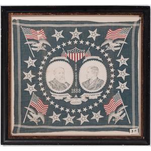 Harrison & Morton 1888 Protect Home Industry Campaign Bandanna