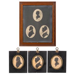 Scottish Silhouettes of the Borron Family