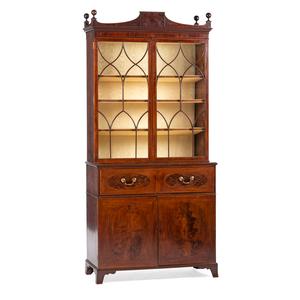 George III Secretary Bookcase