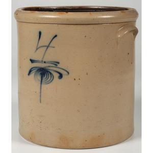 Four-Gallon Stoneware Crock