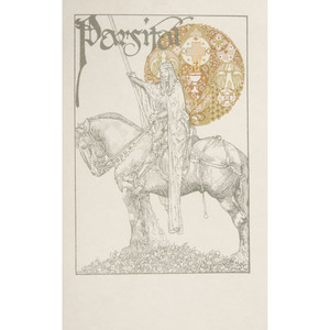 [Illustrated - Pogany] Parsifal, Illustrated by Willy Pogany - Signed Ltd. # 383 of 525 in Full Pictorial Leather Binding